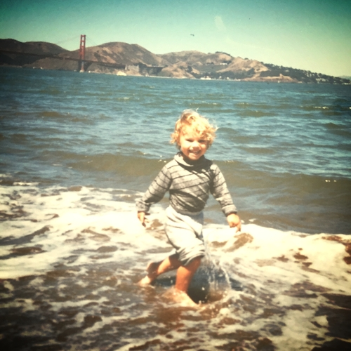 Co-founder Trevor playing at Crissy Field.