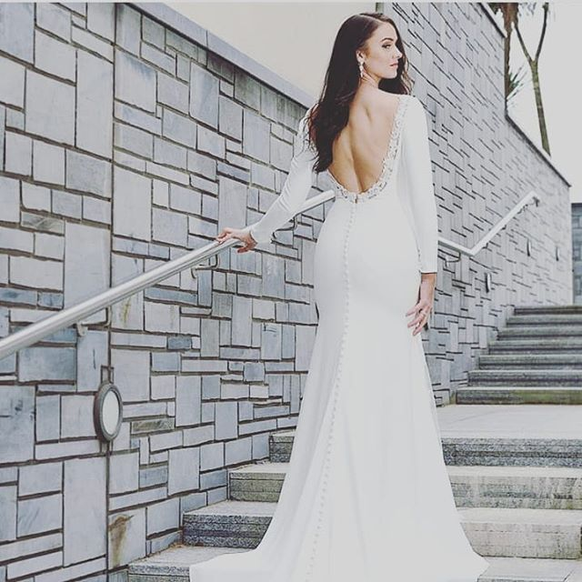Just 1 week to go until our @catherineparrybridal designer weekend!!! It's happening in the boutique from Friday 22nd to Sunday 24th of Feb!!! Appointments are booking up so book now to find your perfect dress.  We know you will look and feel amazing on a Catherine Parry gown!!!! Plus you will get a huge 20% Off when you purchase your dress at this event!!! 🤗