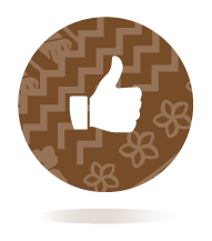 Icon of a thumbs up to represent the Wingman team member