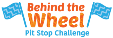 The Behind the Wheel Pit Stop Challenge Logo