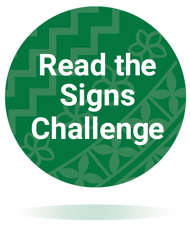 Read the Signs Challenge