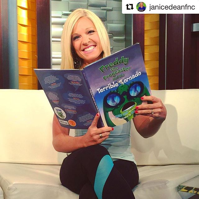 #tbt to when our good friend @annakooiman loved #TerribleTornado! Good luck down under! 🐸