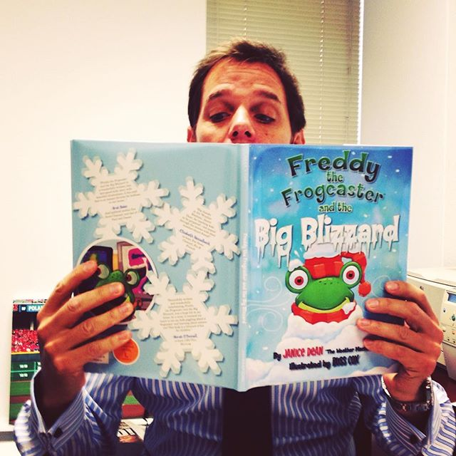 @billhemmer loves to stay winter weather ready! #tbt