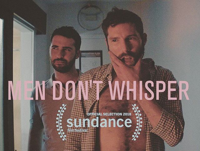 Congratulations to @gcharlesrogers, @jtfirstman and the rest of the cast and crew of #mendontwhisper. I am supremely happy and humbled to have gotten to be a part of this film that's an official selection at Sundance.