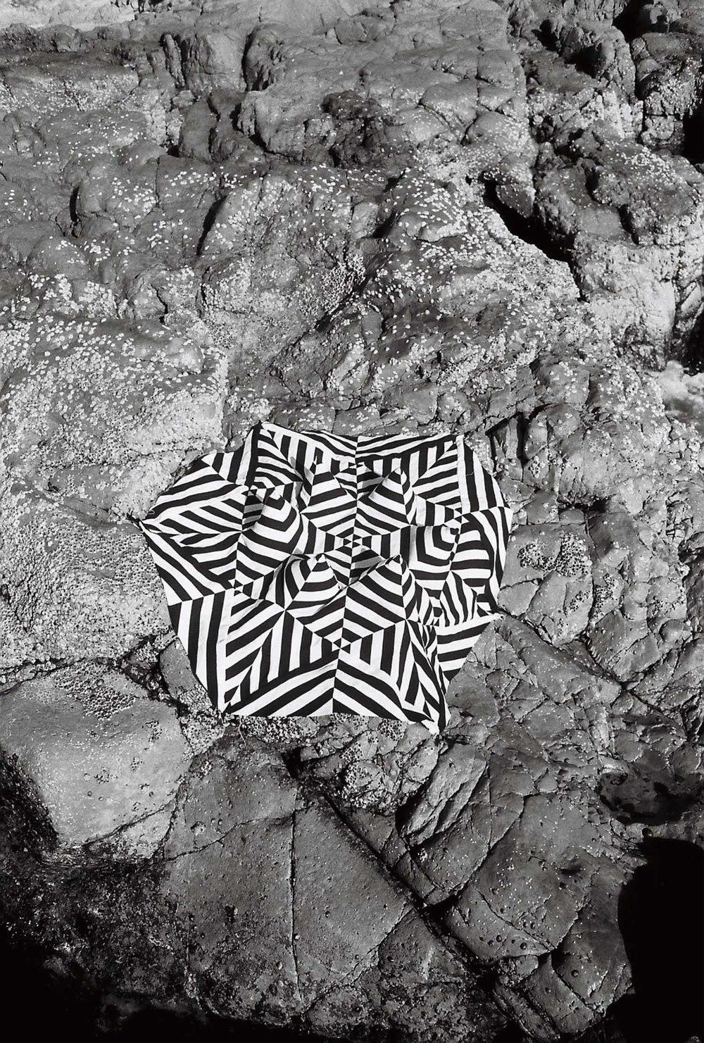 Illusion Quilt at Coolum Beach, 2016, 35mm print (photo Rhett Wyman)