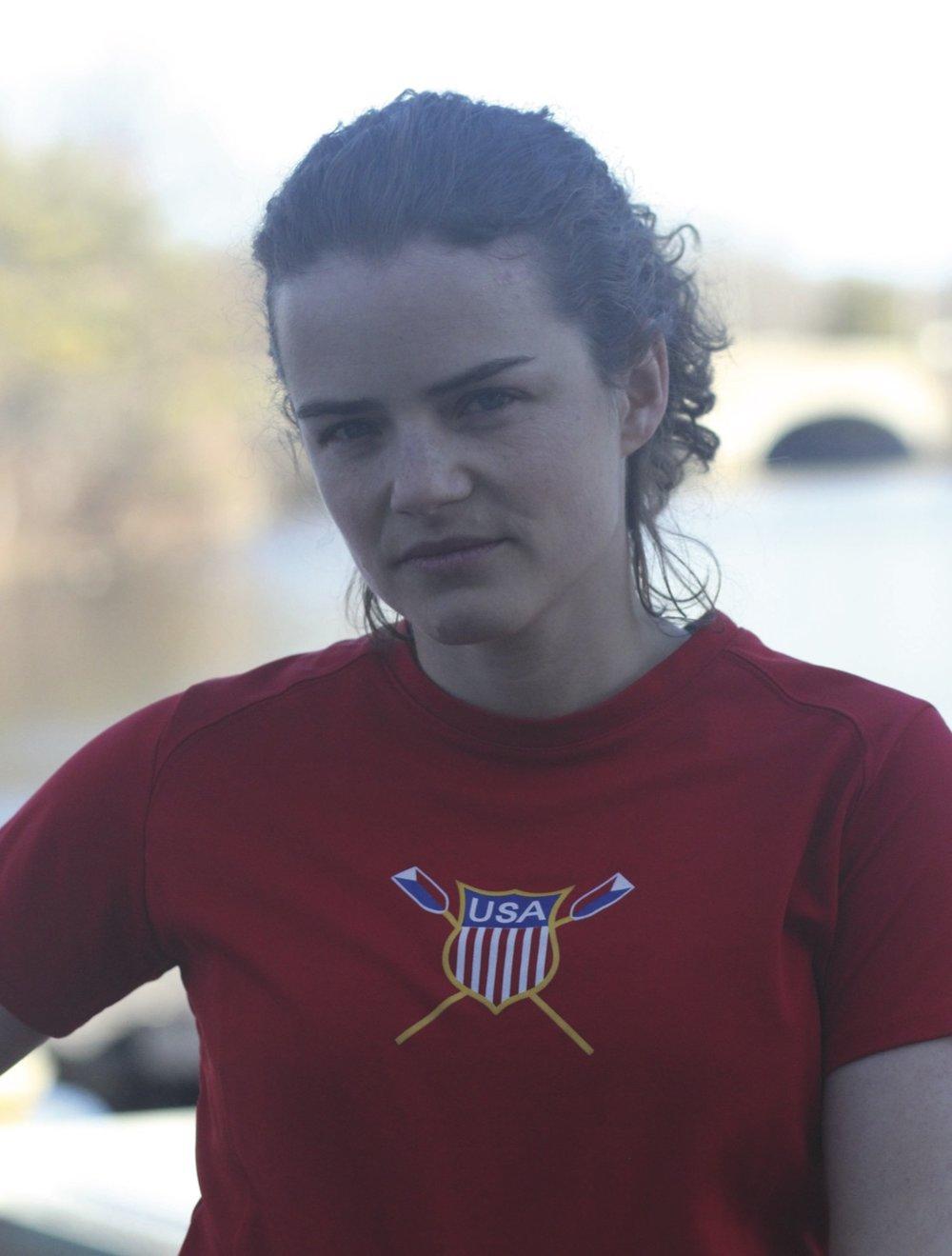 Jenny Sichel, the US National Team LTAMix4+/PR3 Coxswain