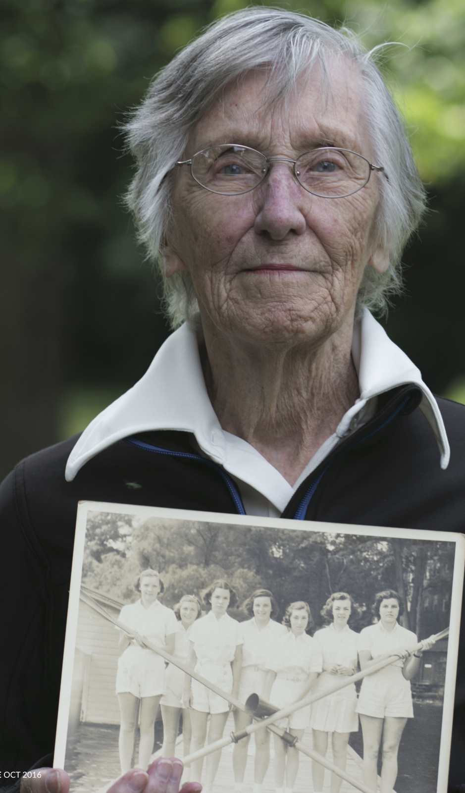 Dorris Sturges coxed the Wellesley Crew from 1939 - 1943. She says she was born too soon.