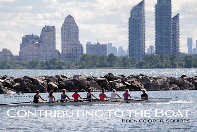 Congrats to all the @worldrowing Junior World Championship coxswains and rowers! A special shout-out to @edenxcs for fighting hard in the semis and winning the B-Finals in the Canadian Men's 4+. Check out her path to the Canadian Junior National Team in #issue7 #coxing #wrjchamps @rowingcanada 📷: @shawn.squires