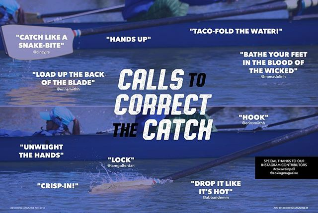 Special thanks to @menadolinh @erinsmiithh @abbandemm @iamgolferdan @cincyjrs for their Calls to Correct the Catch from #issue7 - keep your eyes peeled for our next #coxswainpoll to get your calls in the magazine! #coxing #yourcalls