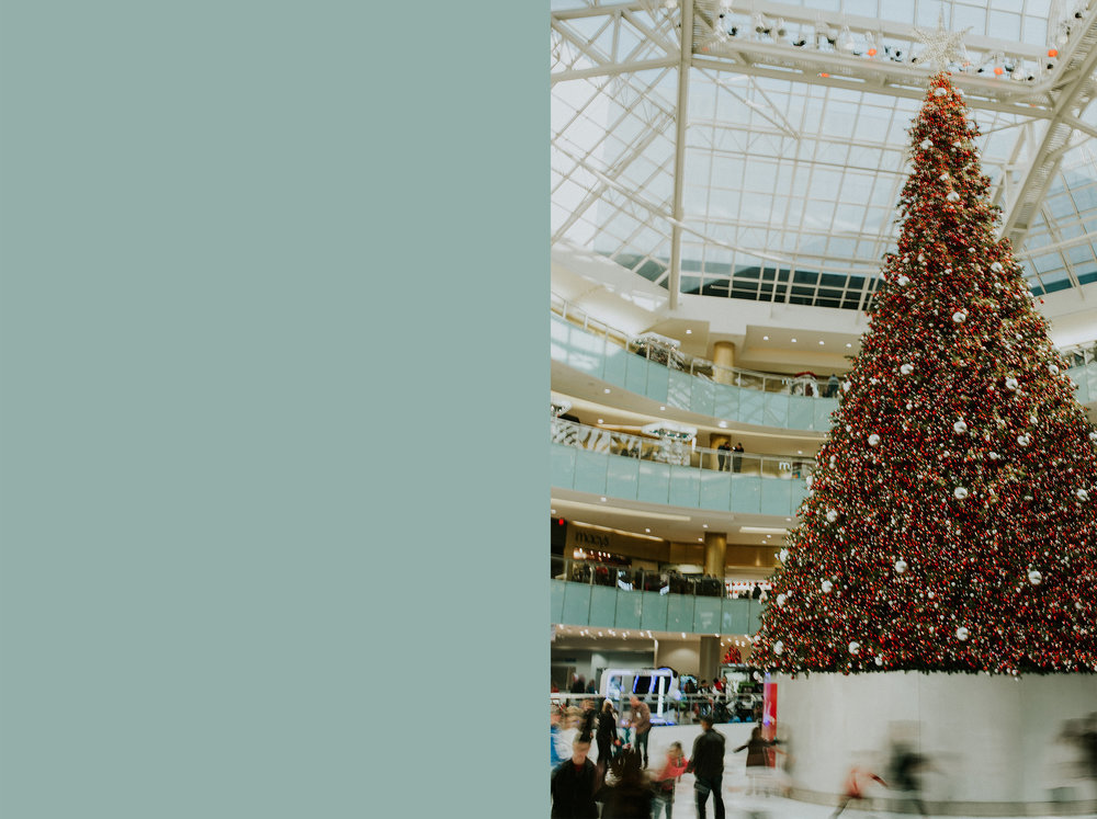 December 20: Christmas date at the Galleria.