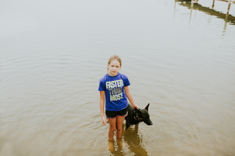June 26: Luna. Liz. Lake. One of the hardest parts of deciding to leave Texas was leaving the lake where so many of Ty's best memories and so much of our story together are housed. And yet, distance aside, it remains our place.
