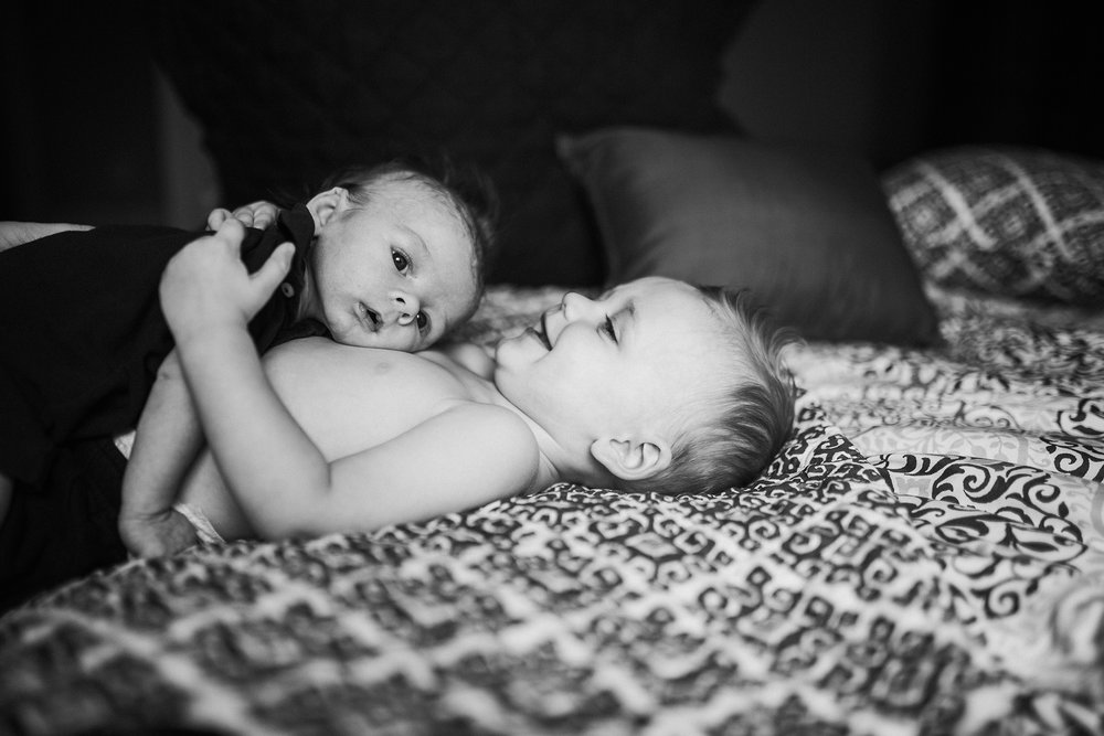 September 29: Reunited with my littlest best buddies. Jameson loves baby Freddy, and I can't imagine the mischief my nephews will get into as they grow up.