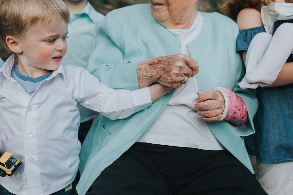 April 29: Extended family sessions with great-grandmas for the win.