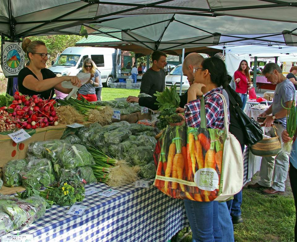 Fresh Take Farm is found at Farmers Markets in Warren and Saratoga Counties.