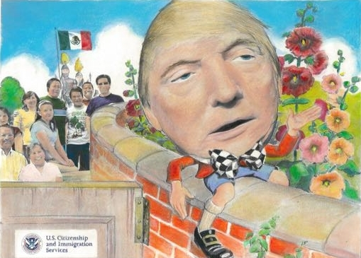 HUMPTY TRUMPTY SAT ON A WALL