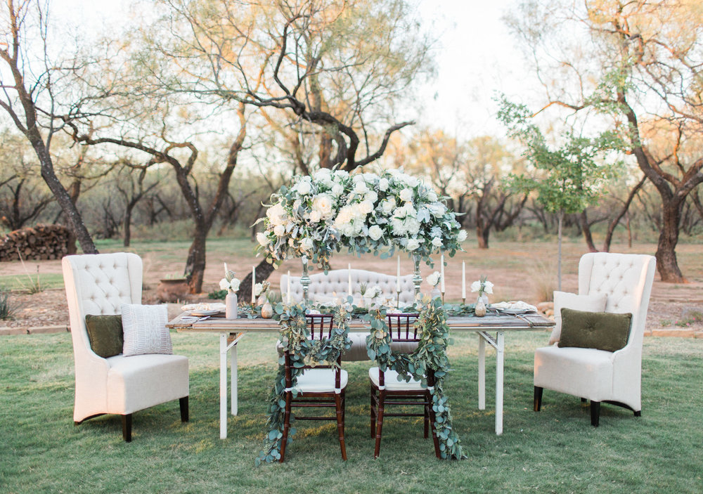 Wichita Falls, TX Styled Shoot Wedding Photos - Light and Airy Photography