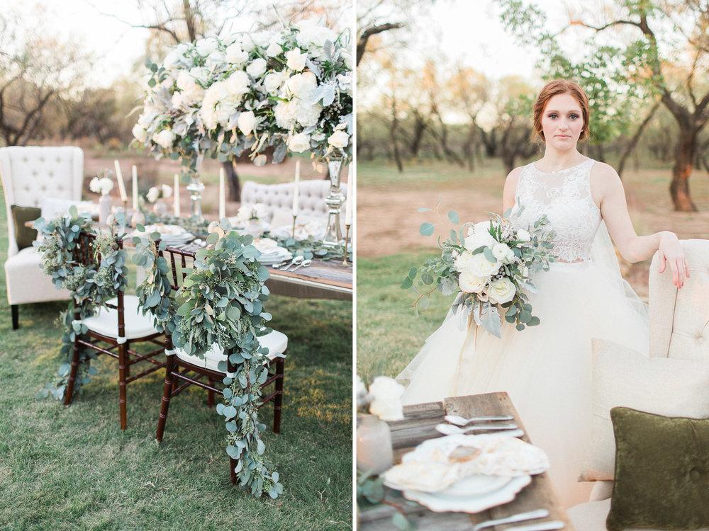 North Texas Styled Shoot Wedding Photos - Elegant Photography