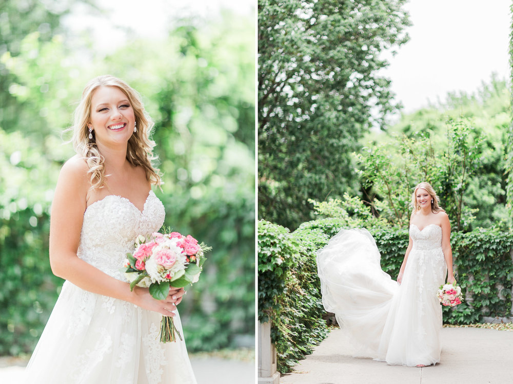 Carrollton, TX Bridal Photos - Light and Airy Photography