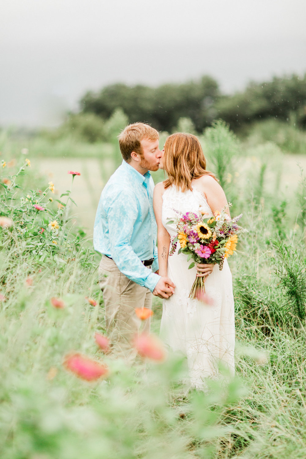 Burkburnett, TX Engagement Photos - Light and Airy Photography