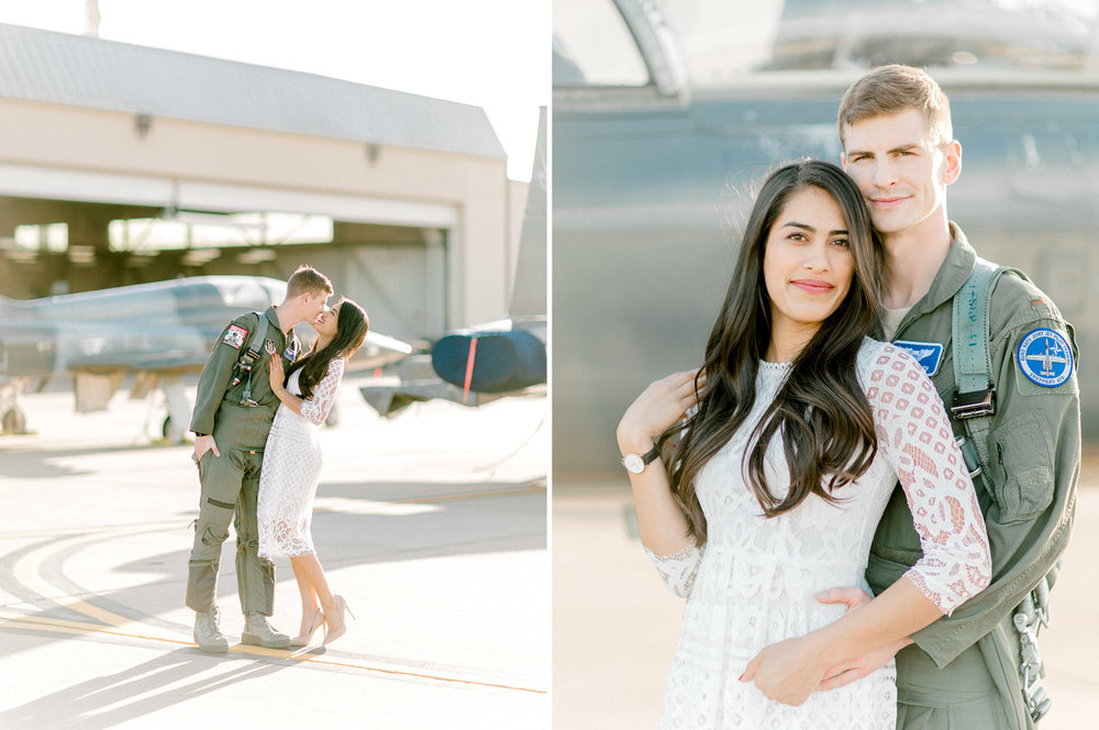 Sheppard Air Force Base Engagement Photos - Elegant Photography