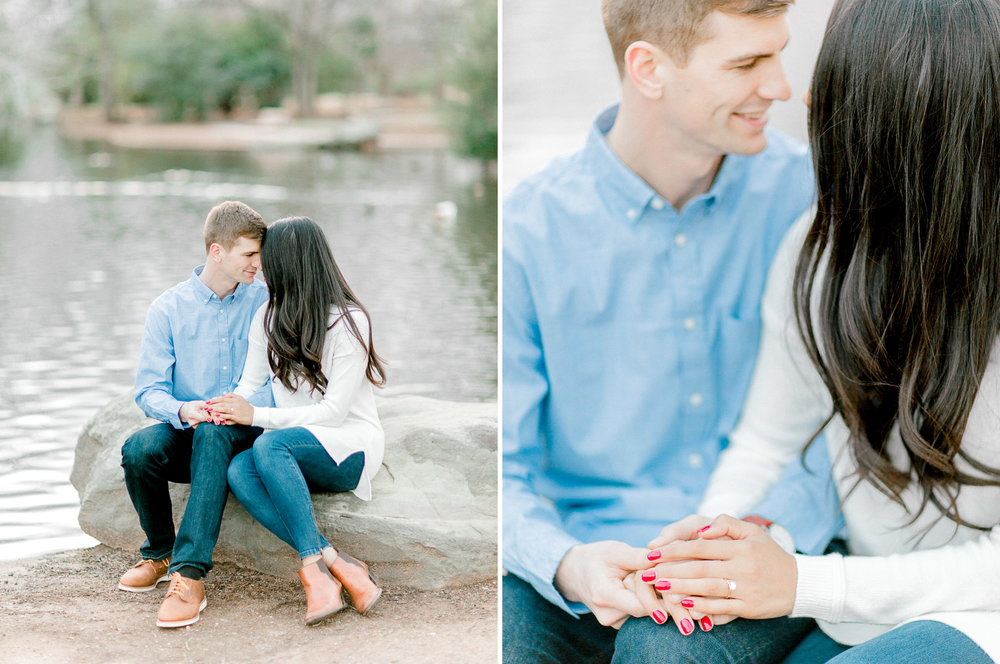 Wichita Falls, TX Engagement Photos - Natural Light Photography