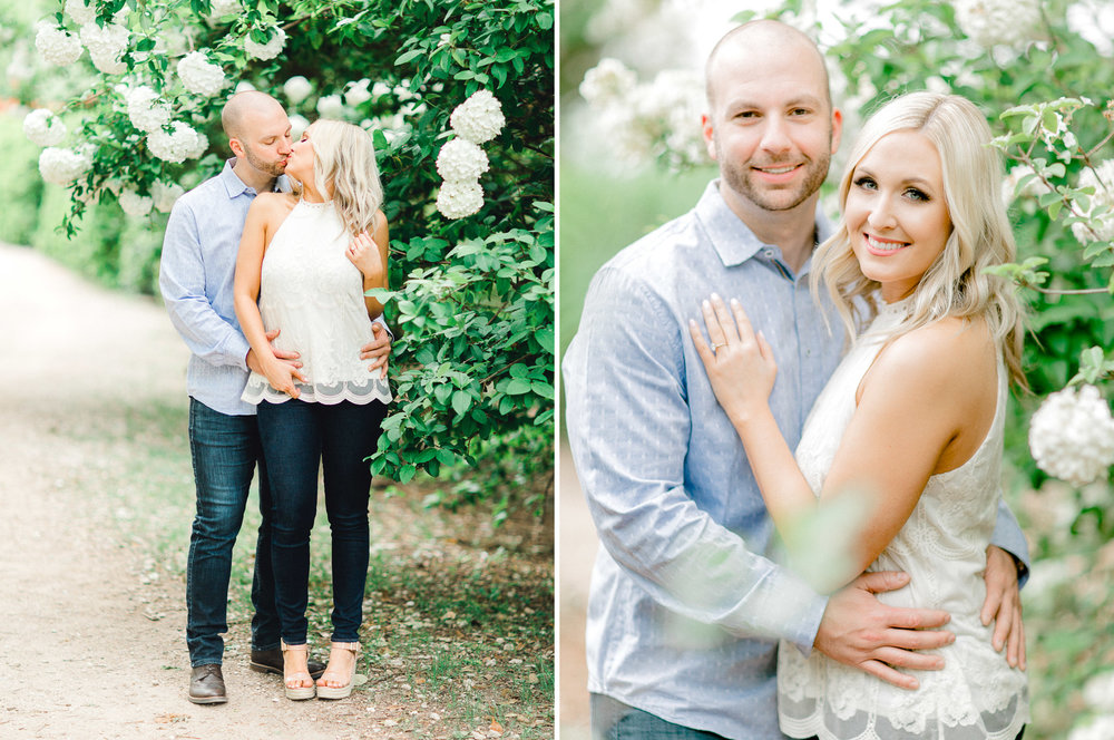 Dallas Arboretum Engagement Photos - Natural Light Photography