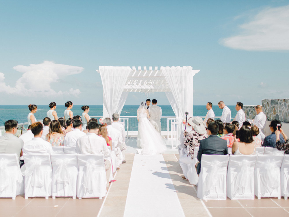 Azul Senatori Beach Resort Cancun - Beach Wedding Photography