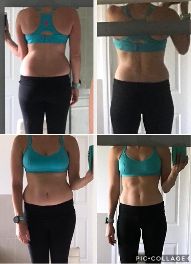 Down 5 kilos in 8 weeks