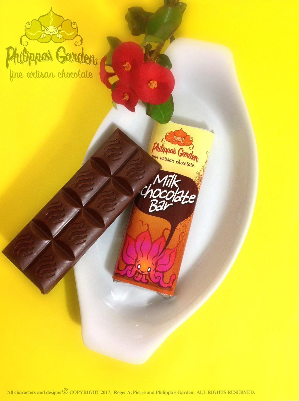 MILK CHOCOLATE BAR  - (30g)  Available in 25% and 15% varieties