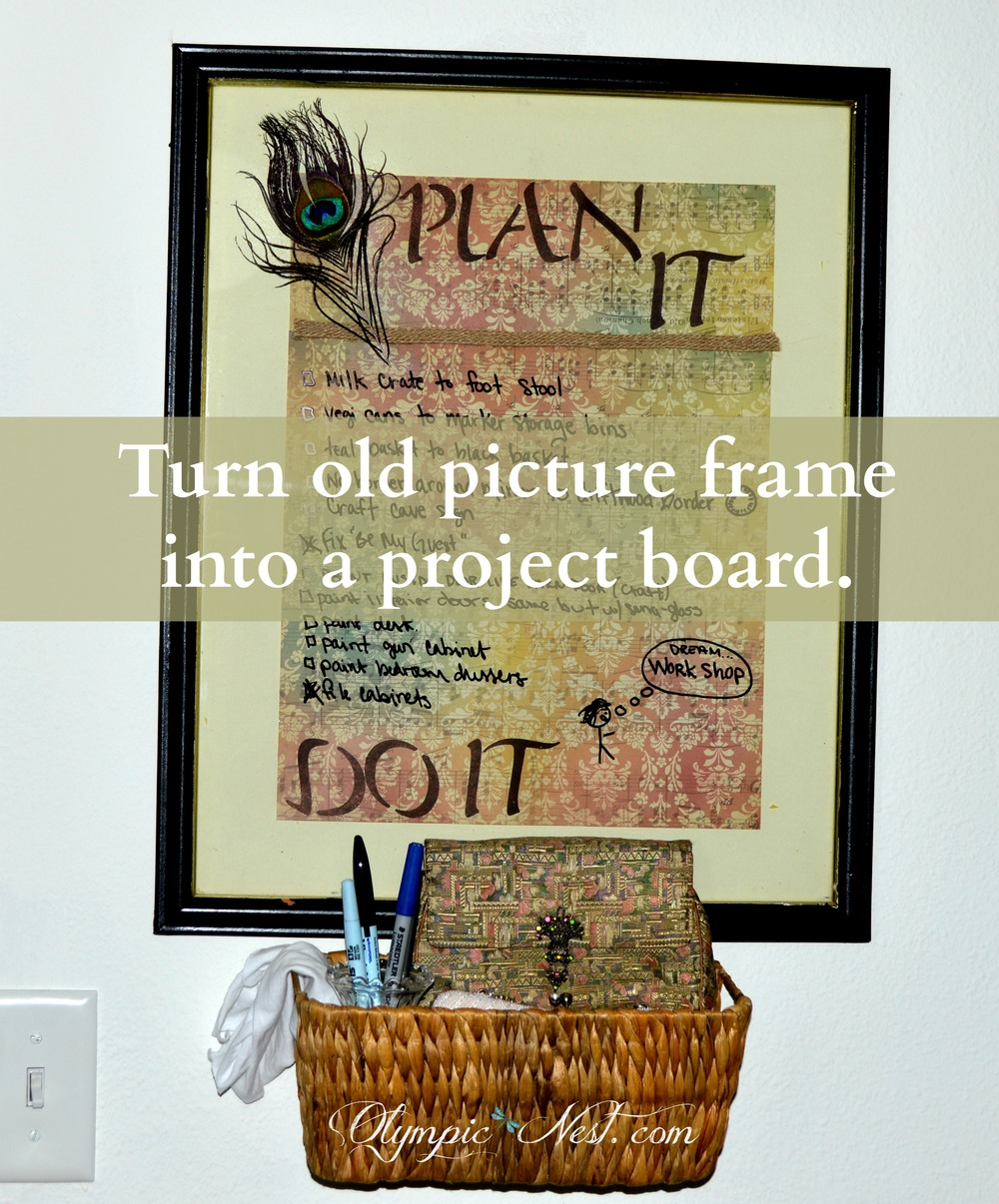 upcycle-old-picture-frame-to-project-board