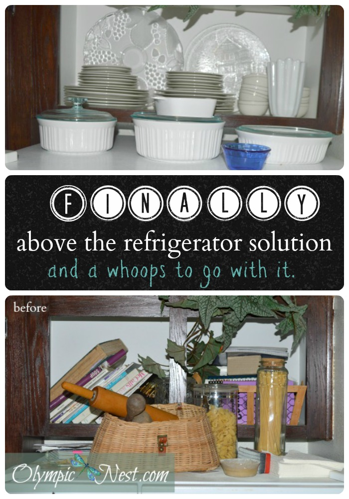 Learn what happened when turning a cluttered space into a functional, pretty storage space