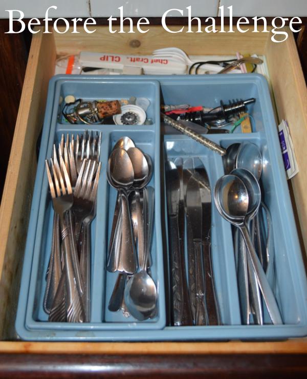 transform messy silverware drawer