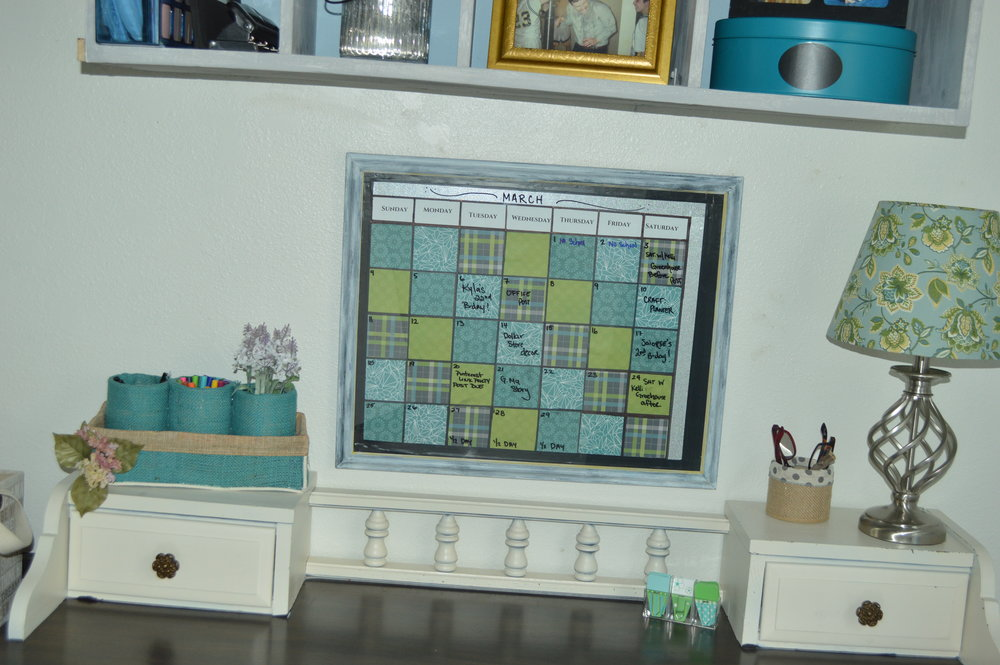 Diy Monthly Dry Erase Calendar Frame The Olympic Nest