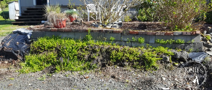 build a retaining wall to improve curb appeal