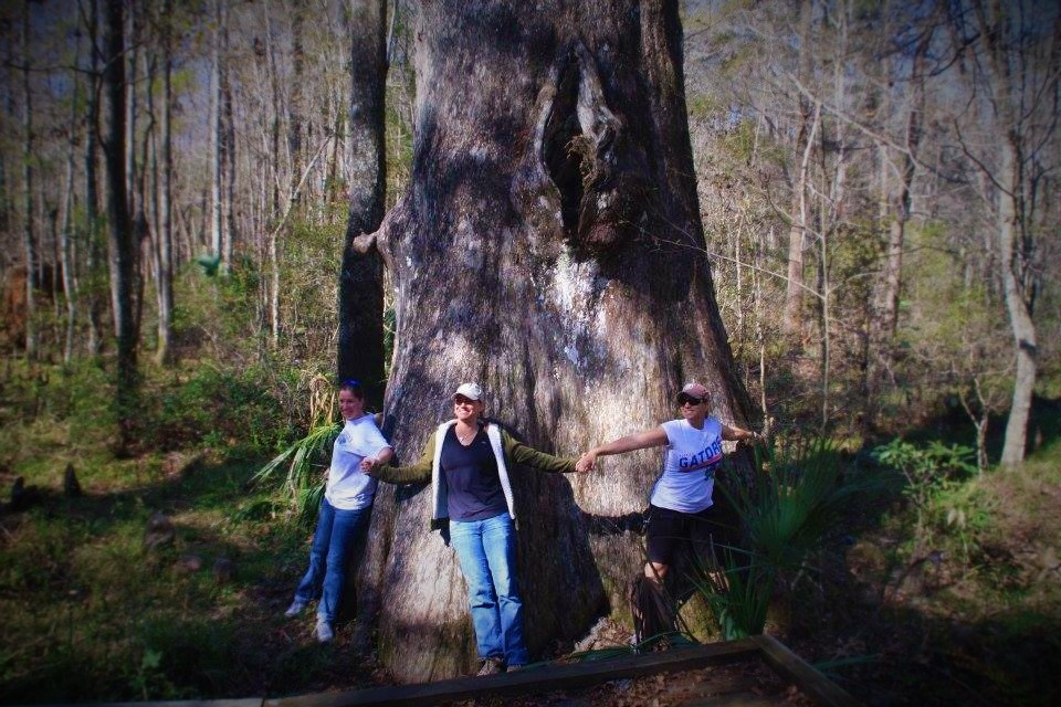 The three sisters from Pink Camo at Goethe State Forest in Dunnellon, FL