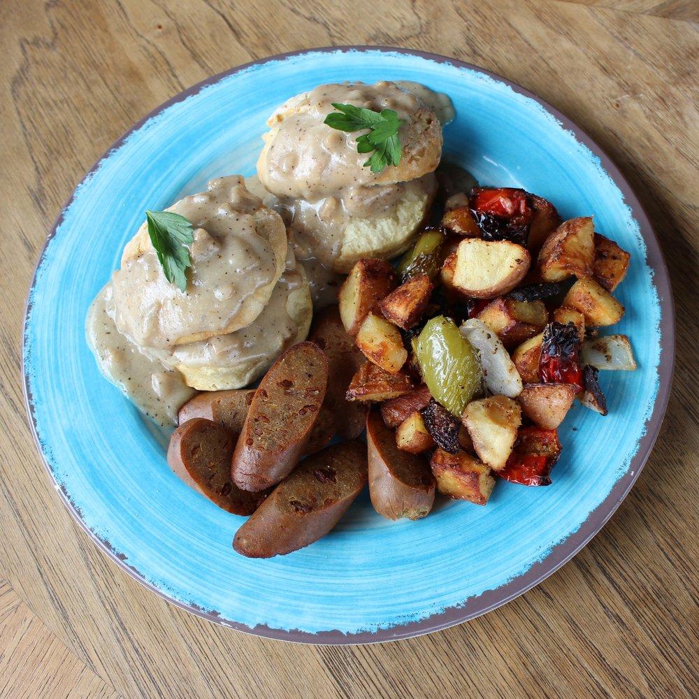 Biscuits 'n Gravy Breakfast Plate