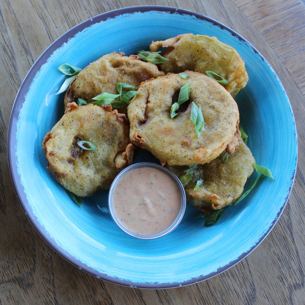 Fried Green Tomatoes + Remoulade