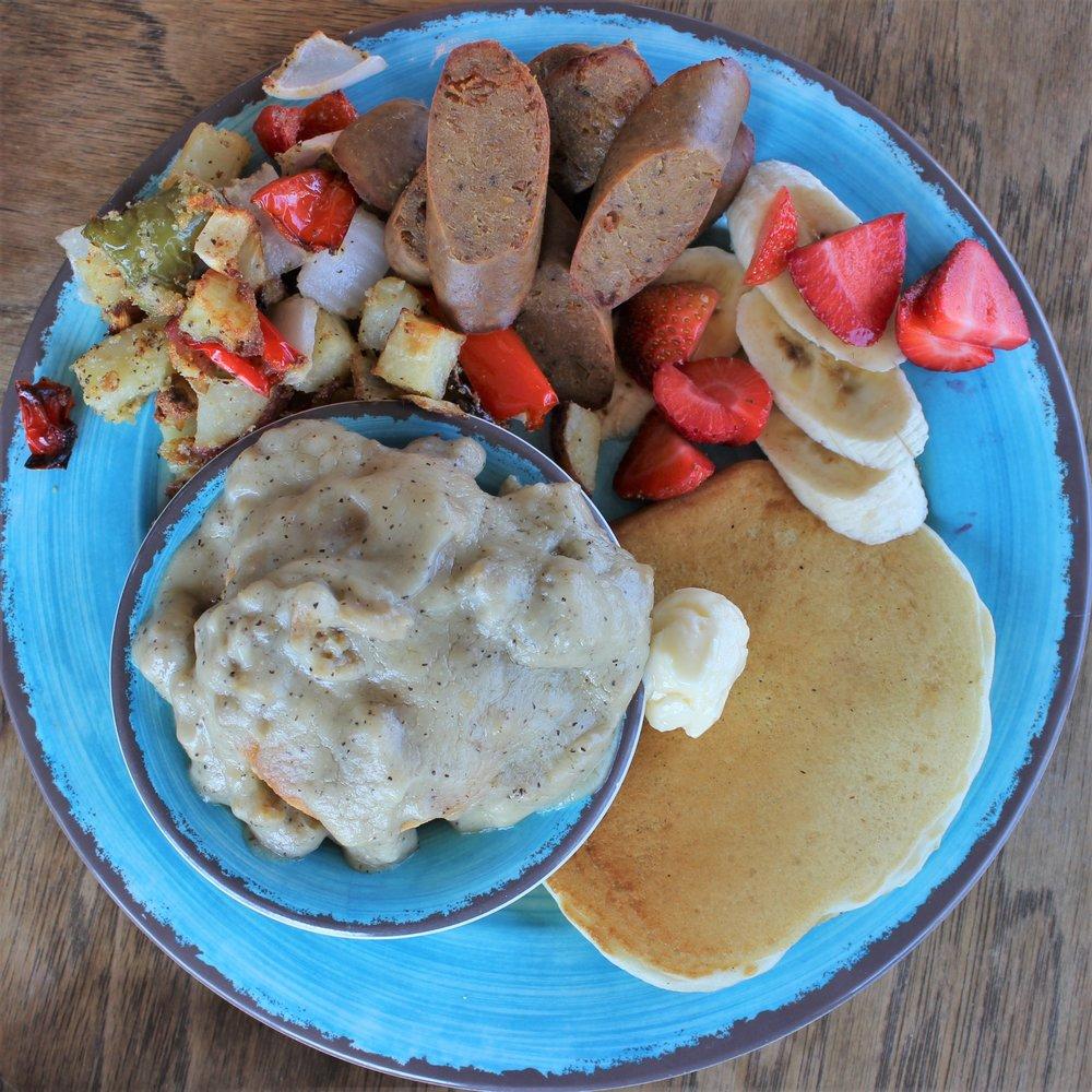 """""""The Lagniappe"""" Breakfast Plate"""