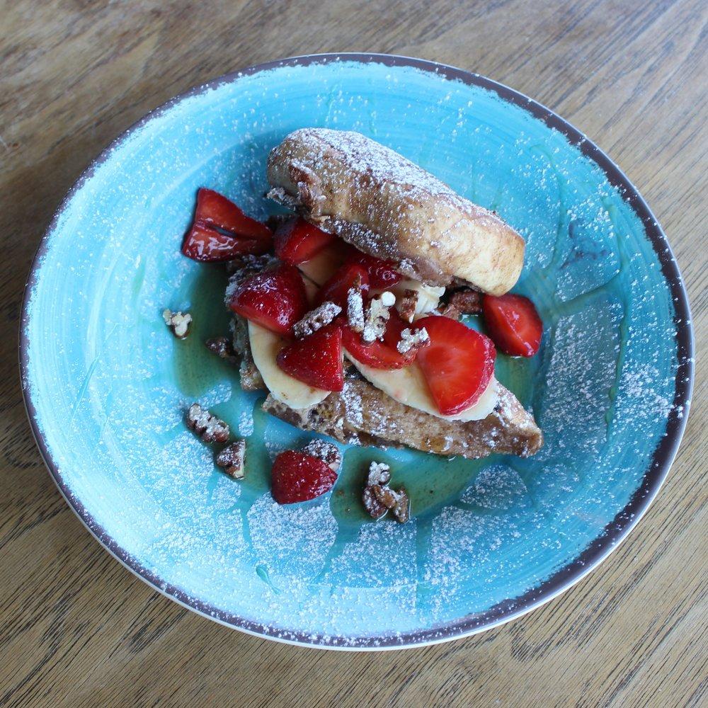Strawbana French Toast