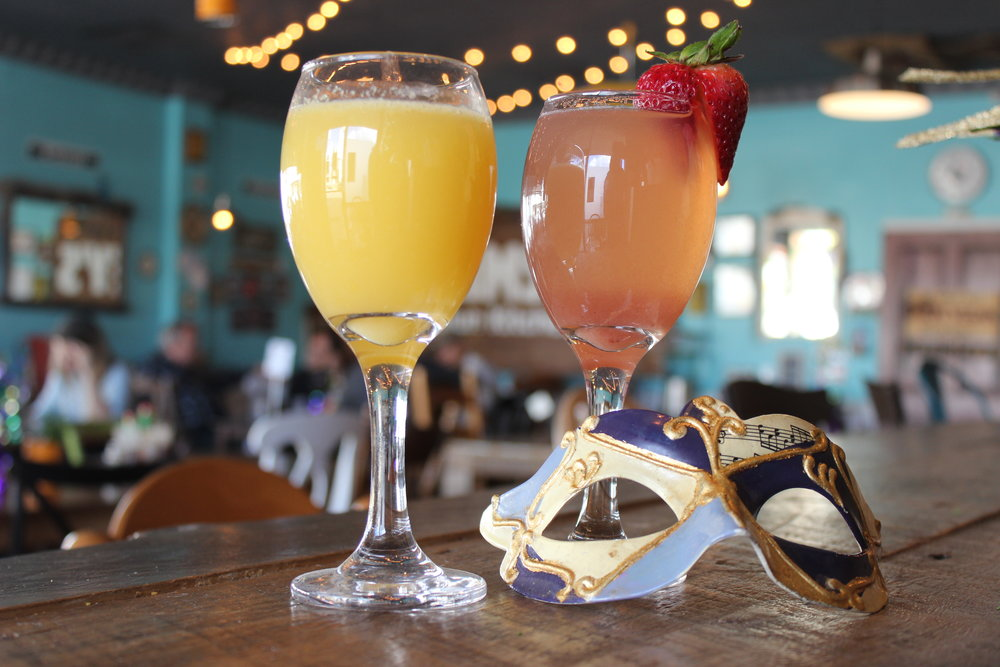 Mimosas and Wine Cocktails