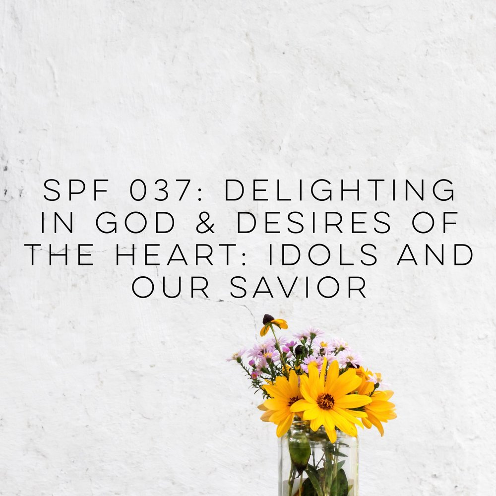 Podcast she proves faithful spf 037 delighting in god and the desires of our hearts idols and saviors fandeluxe Choice Image