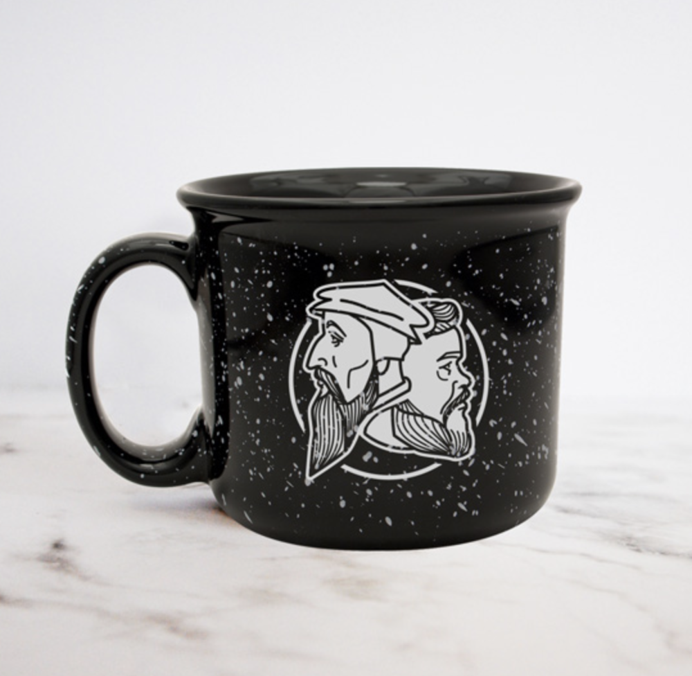 Calvin Spurgeon Camp Style Mug - pic from website
