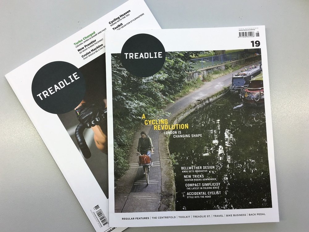 Treadlie Magazine - Treadlie magazine is for bike lovers, would be bike lovers and those that appreciate great bike design – a magazine devoted to culture, fashion and design.