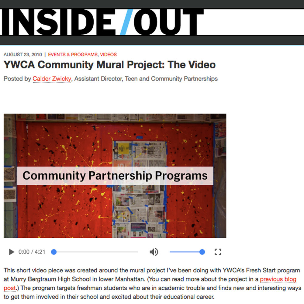 YWCA Community Mural Project
