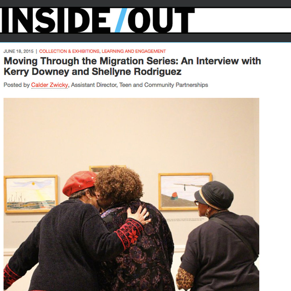 Moving Through the Migration Series: An Interview with Kerry Downey and Shellyne Rodriguez