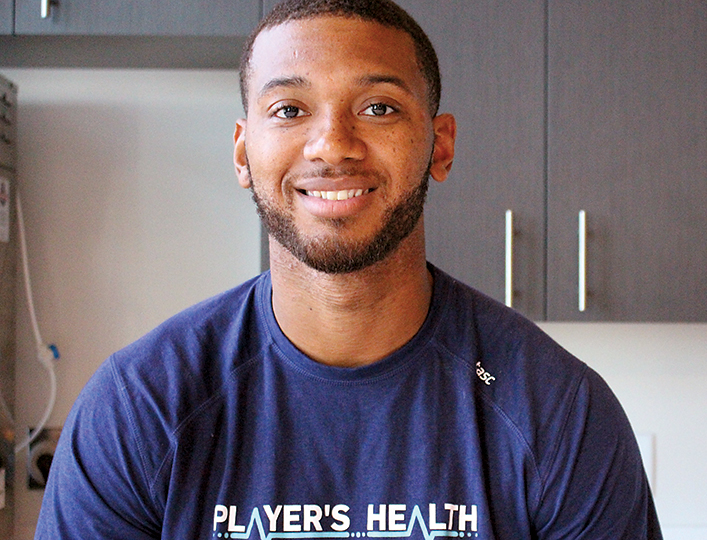 Tyrre Burks # Player's Health