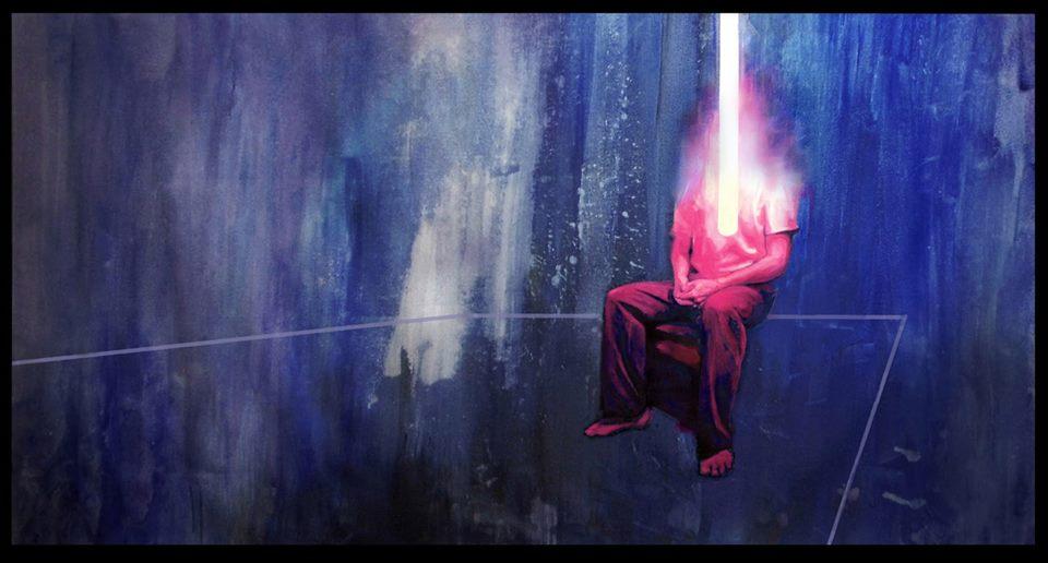 untitled - Acrylic on canvas-140x100 cm  Enlarge