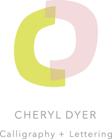 Cheryl Dyer Calligraphy + Lettering