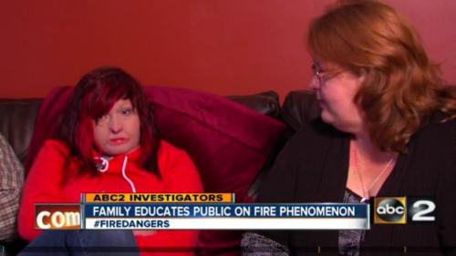 Aubrey Clark, ABC2 Investigators, ATF studies fire phenomenon that burned a Baltimore County teenage