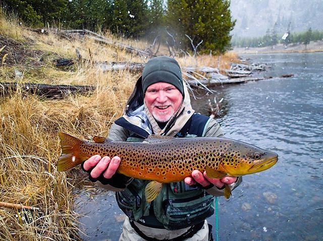 November always treats us well! Anyone else doin a little late season fishing? #Montana #teamTMO #browntown #flyfishing #bigsky #trout #fishing